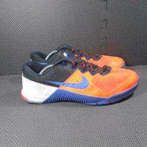 Mens Sz 11.5 Nike Metcon 2 Total Crimson Black